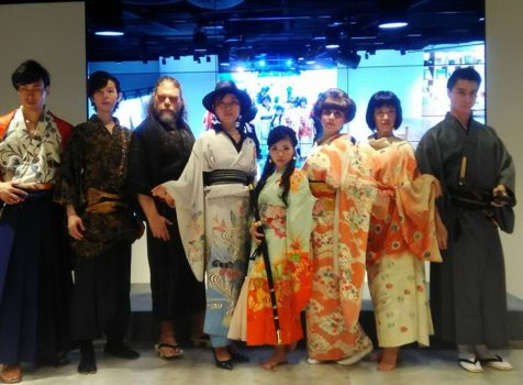 "◆Our new Kimono show project ""Refashion Caravan"" start.◆"