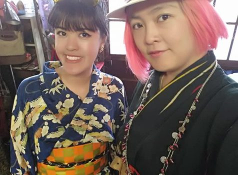 ◆Kimono Experience guest on Airbnb from Philippines◆