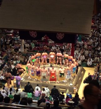 相撲観戦行って来ました。