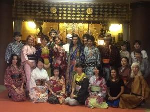 10月8日(土)北斎キモノファッションショー無事終わりました。