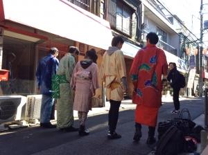 11月11日(金)のファッションショーのフィッティング♪