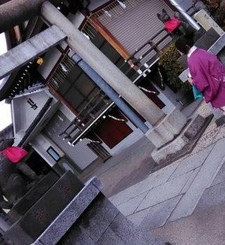 昨日はカジュアル着物で街歩きでした。