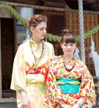 ネオ Kimono スタイリング