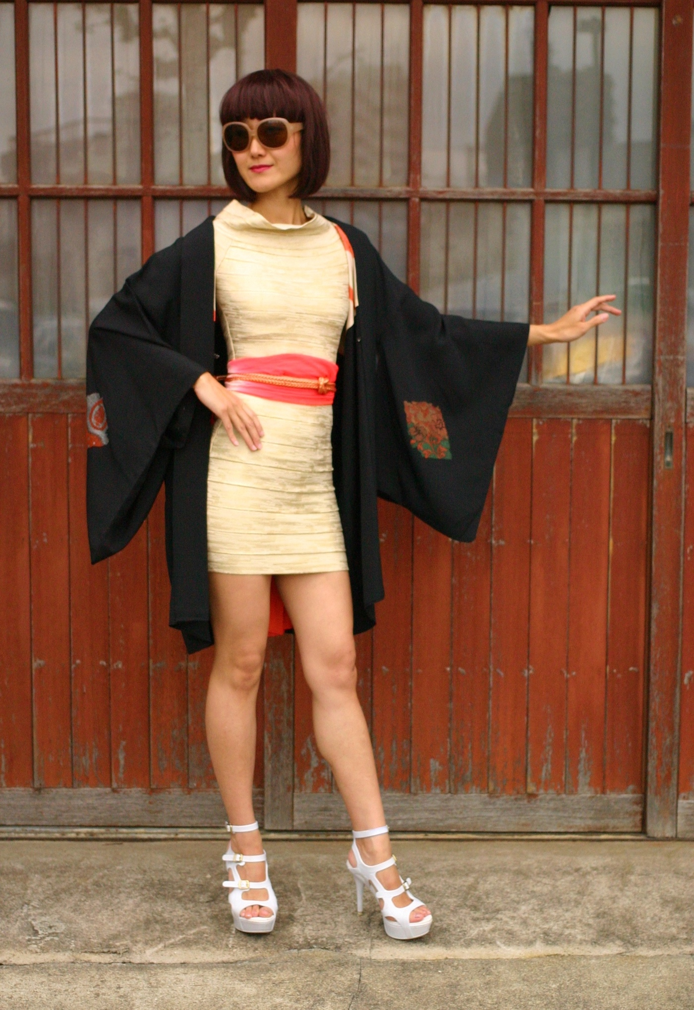 ◆羽織×洋服 手軽なネオKimonoスタイルサービススタート◆