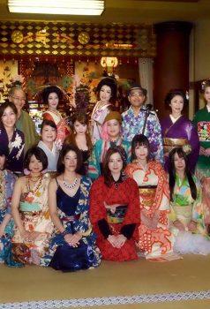 ◆北斎×着物 お寺でフェス無事に終わりました◆